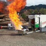 Brandschutzkurs Löschübung