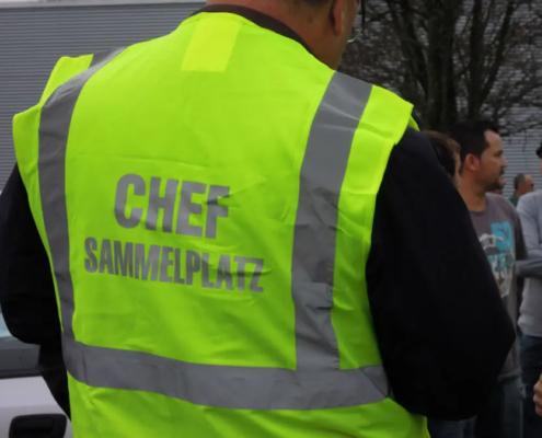 MPS Notfallmanagement Evakuation Sammelplatz