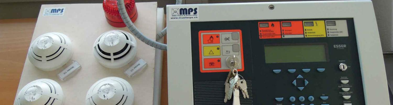 MPS Brandmeldeanlage Brandschutz, organisatorischer Brandschutz